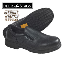 Deer Stags Krypton Slip-Ons  Model# KRYPTON-BLACK