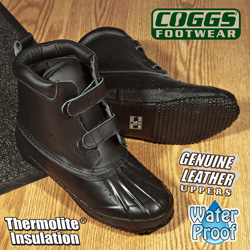 Coggs Black Duck Boots  Model# JZ11091
