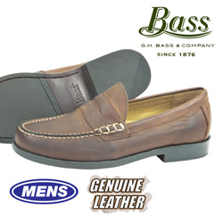 Bass Walton Penny Loafers&nbsp;&nbsp;Model#&nbsp;WALTON-CORK