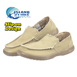 Pinto Canvas Slip-Ons  Model# 11109TAN