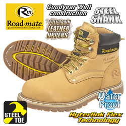 Roadmate S-Toe Boot&nbsp;&nbsp;Model#&nbsp;S647-103WP
