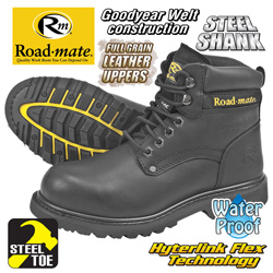 Roadmate S-Toe Boot  Model# S647-401WP