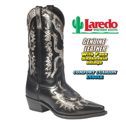 Laredo Snake Print Boots&nbsp;&nbsp;Model#&nbsp;6780