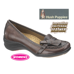 Brown Iria Hush Puppies&nbsp;&nbsp;Model#&nbsp;H503568