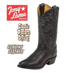 Tony Lama Black Stallion Boots  Model# 7900