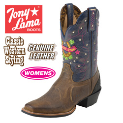 Tony Lama Stars Boots  Model# ST1002