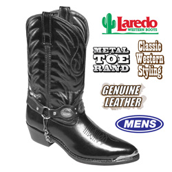 Laredo Black Tallahassee Boot&nbsp;&nbsp;Model#&nbsp;6770