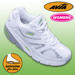 Avia White/Lime iTone Shoe  Model# A9999WWSK