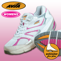 Avia White/Fuchsia iTone Shoe&nbsp;&nbsp;Model#&nbsp;A9999WWSP