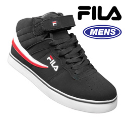 Fila Black High-Top Shoes  Model# 1SC082XK009
