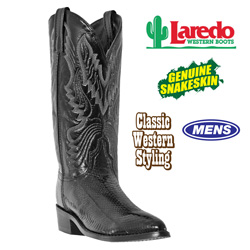 Laredo Snake Skin Boots&nbsp;&nbsp;Model#&nbsp;4574