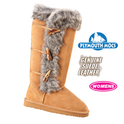 Plymouth Mocs Merino Wool Boots  Model# 9095