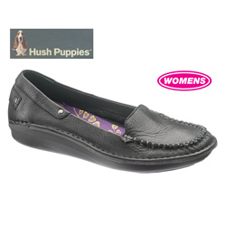 Hush Puppies Allaze Shoes - Black  Model# H503739