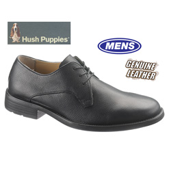Hush Puppies Hackman Oxfords - Black  Model# H102048