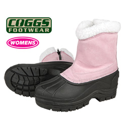 Womens Pink Coggs Snow Boots  Model# HH-5009