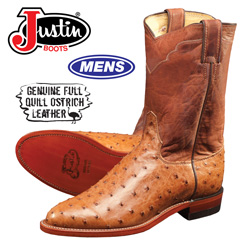 Full Quill Ostrich Boot&nbsp;&nbsp;Model#&nbsp;3192