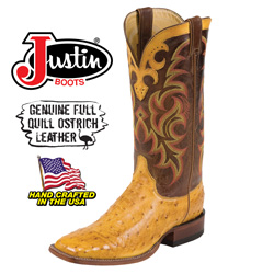 Full Quill Ostrich Boots&nbsp;&nbsp;Model#&nbsp;8511