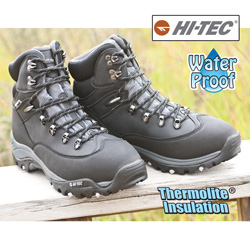 Waterproof Insulated Boots&nbsp;&nbsp;Model#&nbsp;HT-YETI-BLK
