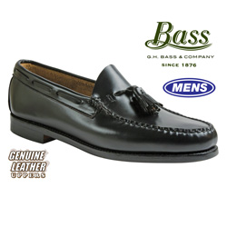 Bass Larkin Tassel Loafer - Black  Model# LARKIN-BLACK