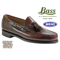 Bass Larkin Tassel Loafer - Burgundy&nbsp;&nbsp;Model#&nbsp;LARKIN-BURGUNDY
