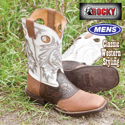 Rocky White Boots&nbsp;&nbsp;Model#&nbsp;4993