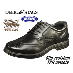 Deer Stags Essex Oxfords&nbsp;&nbsp;Model#&nbsp;ESSEX-BLACK