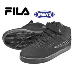Fila High Tops - Black&nbsp;&nbsp;Model#&nbsp;1SC082XK001