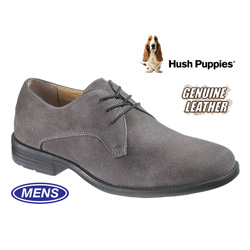 Hackman Suede Oxfords - Lead  Model# H102053