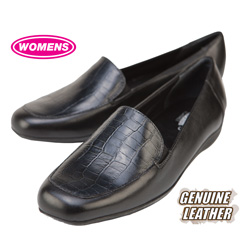 Mark Lemp Womens Loafers - Black&nbsp;&nbsp;Model#&nbsp;W0285184