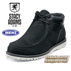 Stacy Adams Pursuit Boot - Black  Model# 53367-008