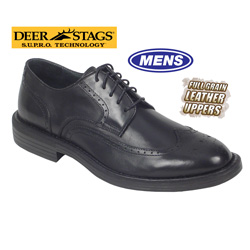 Mens Detour Wing Tips&nbsp;&nbsp;Model#&nbsp;AMSTERDAM-BLACK