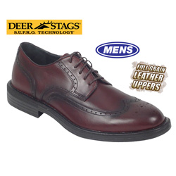 Mens Detour Wing Tips  Model# AMSTERDAM-DARK WINE