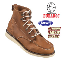 Duango 6 Inch Lace-Up Workboots&nbsp;&nbsp;Model#&nbsp;DB7412