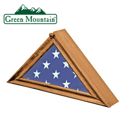 Wood Flag Display Box  Model# YB-03001