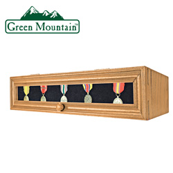 Wood Medal Display Box  Model# YB-03004
