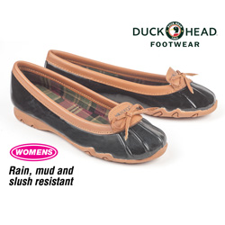 Duck Head Aquaduck Shoes - Black  Model# W1324001