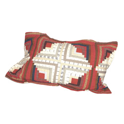 Red Log Cabin Shams (Standard Size)  Model# 0210794028