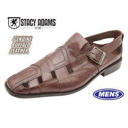 Stacy Adams Cimarron Sandals - Cognac&nbsp;&nbsp;Model#&nbsp;24727-221