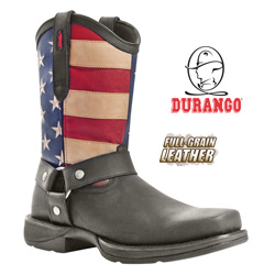 Durango Patriotic Pull-On Boots&nbsp;&nbsp;Model#&nbsp;DB5550