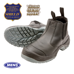 Shield Ultra Pull-On Boots  Model# BU9007