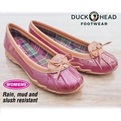Duck Head Aquaduck Shoes - Red  Model# W1324600