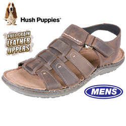 Hush Puppies Open-Toe Sandals - Brown  Model# H103386