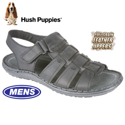 Hush Puppies Open-Toe Sandals - Black  Model# H103387