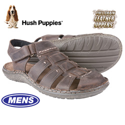Hush Puppies Closed-Toe Sandals - Brown  Model# H103389