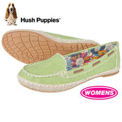 Hush Puppies Coppelia Shoes - Green  Model# H505760