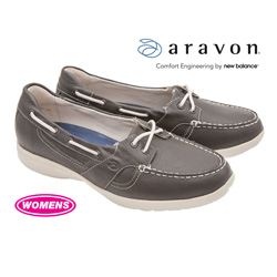 Aravon Jillian Boat Shoes  Model# WEJ08DB