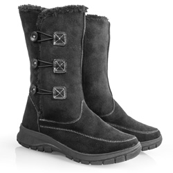 Womens Toggle Winter Boots - Black  Model# 806990