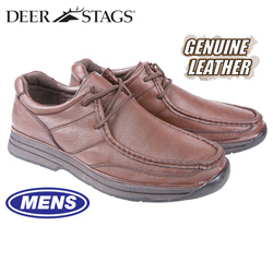 Deer Stags Glendale Shoes - Redwood  Model# GLENDALE-REDWOOD
