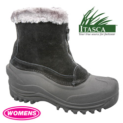 Itasca Winter Boots - Black  Model# TAHOE-648093