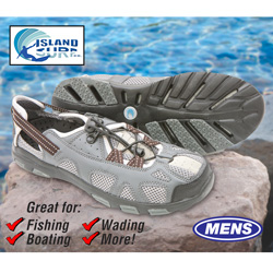 Island Surf Shark Water Shoes  Model# 21203GRY